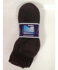 Ankle Diabetic Socks (Brown)